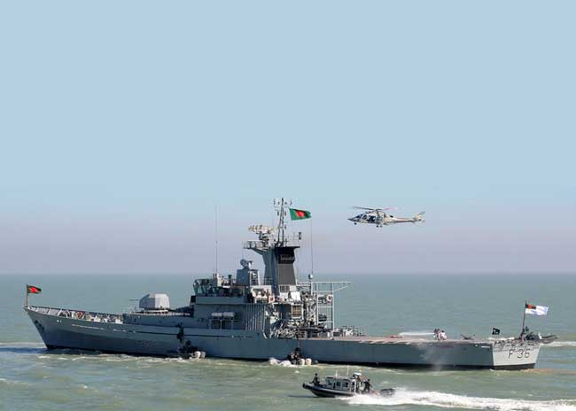 US-Bangladesh Navy exercise starts in Chattogram