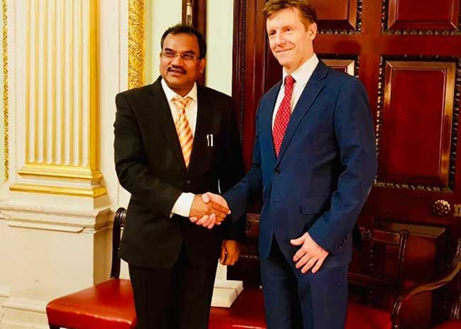 13th meeting of India-UK Joint Working Group on Counter Terrorism