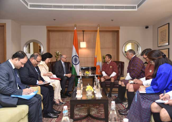Second India-Bhutan Development Cooperation Talks