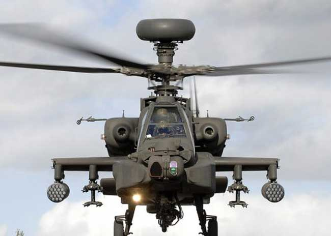 Rs 2,500 crore fight between Army and IAF for Apache choppers