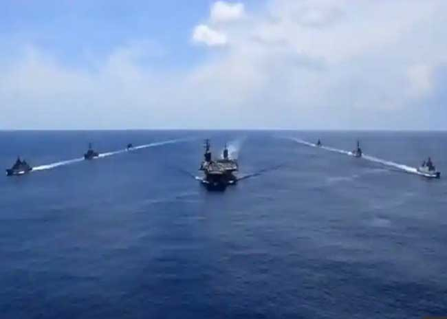 India US Passage Exercise
