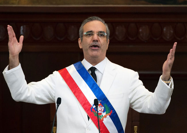 Luis Rodolfo Abinader becomes new president of the Dominican Republic