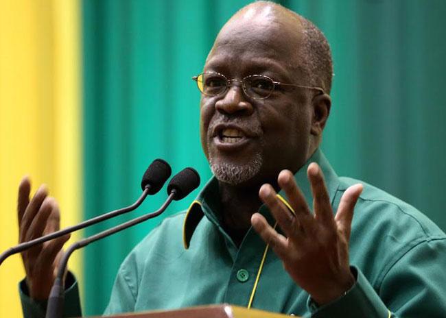 John Magufuli announced as Tanzania's new president